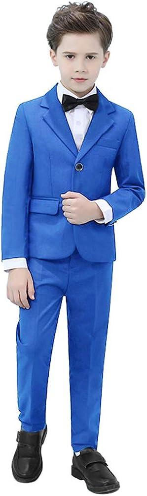 Yavakoor 税込 Boys Formal 割り引き Wedding Slim Fit Set Suit Complete Outfit
