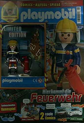 """Playmobil Blau 6/2021 \""""FEUERWEHR\"""""""
