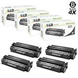 LD Remanufactured Toner Cartridge Replacement for Canon X25 8489A001AA (Black, 4-Pack)