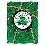 NORTHWEST NBA Boston Celtics Raschel Throw Blanket, 60' x 80', Shadow Play