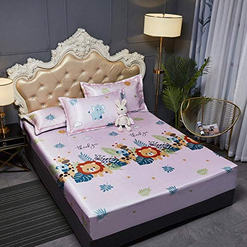 JRDTYS Super Soft Warm and Cosy Fitted Bed SheetThe bed cover is machine washable and non-slip-13_200cmx220cm+35cm