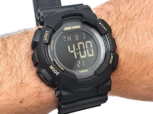 Relógio Mormaii Masculino Wave Preto - MO3415AA/8P