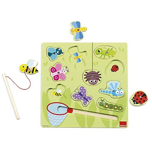 Jumbo Spelbugs – houten puzzel met magneten