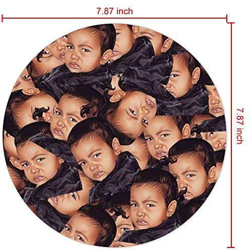DISNEY COLLECTION Square Round Mouse Pad Kim Kardashian Light Slim Cartoon Cute Skid Proof Office Gaming Home Drop Protection
