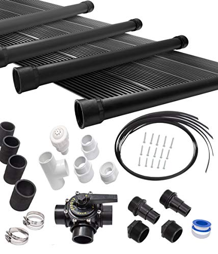 Lowest Prices! SunQuest 6-2X12 Solar Swimming Pool Heater Complete System with Roof Kits