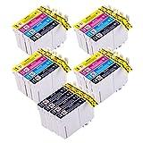 Perfectprint T0715 Cartouches d'encre compatibles pour imprimante Epson, 20 pièces...