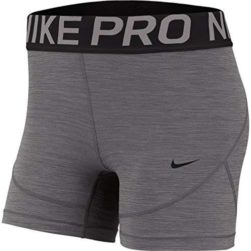 Nike Womens Fitness Workout Shorts Gray M