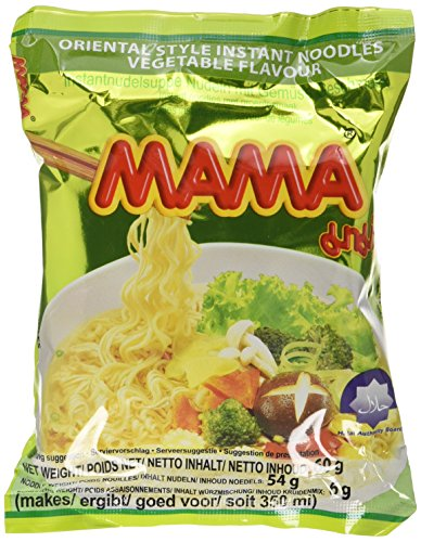 Mama Instant Nudeln Gemüse 60g, 45er Pack (45 x 60 g)