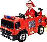 Actionbikes Motors Kinder Elektroauto Polizei / Feuerwehr SX1818 - 2 x 35...