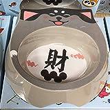 MYYXGS Ciotola per Bimbi e Gatti Giapponesi   Ciotola per Gatti e Cani   Ciotola per Gatti e Cani   Cat Bowl Rabbit Hamster  