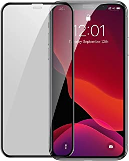 Baseus Full-screen Curved Privacy Tempered Glass Film (Cellular Dust Prevention) (2pcspack+Pasting Artifact) for iPX/XS/11...