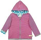 loud + proud Baby-Unisex Wendejacke aus Bio Baumwolle, GOTS Zertifiziert Jacke, Violett (Orchid or), (Herstellergröße: 86/92)