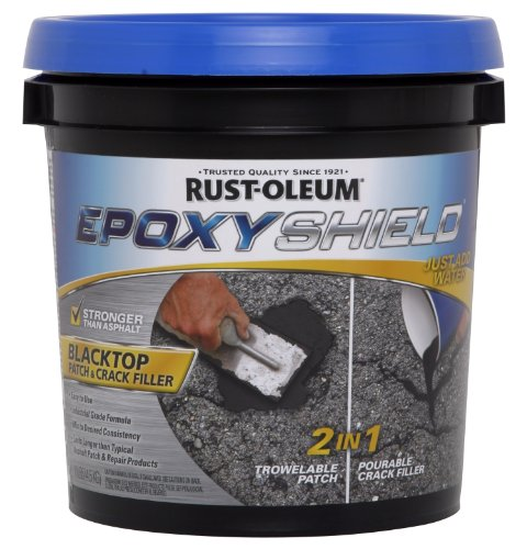 1 Gal Epoxy Shield Blacktop Patch & Crack Filler 2 Count [Set of 2]