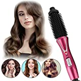 Curling Iron Brush, Hair Curler Hot Brush Professional Anti-Scald Instant Heat Up Curling