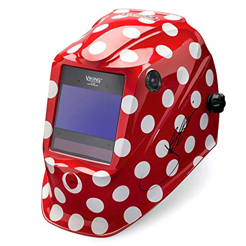 Lincoln Electric K4437-4 VIKING 2450 Auto Darkening Welding Helmet, Jessi The Welder