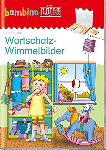 bambinoLÜK-Übungshefte: bambinoLÜK: 3/4 Jahre: Wortschatz-Wimmelbilder