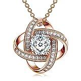 Alex Perry collana argento 925 regali per donna collana per ragazze regalo gioielli in oro rosa san-valentino festa della mamma regali di compleanno di natale per mamma moglie fidanzata anniversario