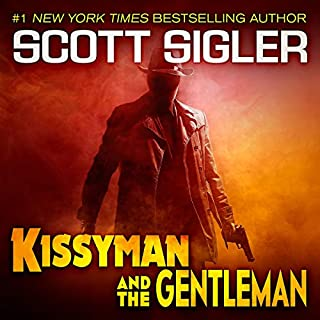 Kissyman & the Gentleman audiobook cover art