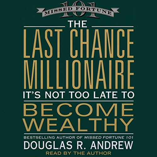 The Last Chance Millionaire audiobook cover art