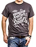 Better Call Saul - Camiseta Hombre Breaking Bad - Gris L