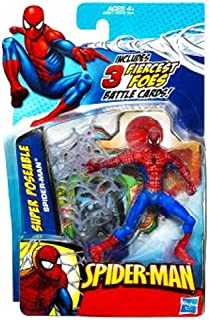 SpiderMan 2010 Series One 3 3/4 Inch Action Figure Super Poseable SpiderMan