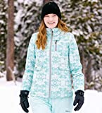 Arctix Women's Yodeler Insulated Jacket, Summit Print Island Blue, Small