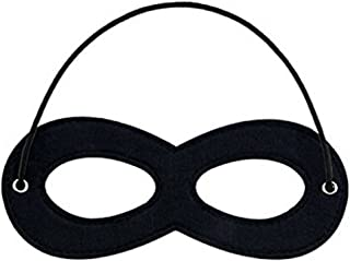 1 Piece Superhero Felt Eye Masks, Adjustable Elastic Rope Half Masks - Great for Party Cosplay Accessory …