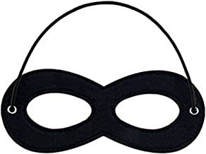 CANSHOW 1 Piece Superhero Felt Eye Masks, Adjustable Elastic Rope Half Masks - Great for Party Cosplay Accessory …