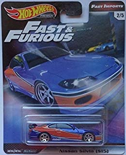 Hot Wheels Nissan Silvia (S15) #2/5 Premium 2019 Real Riders Fast & Furious Series 1:64 Scale Collectible Die Cast Model Car