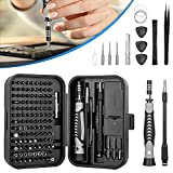 WOTOW 130 in 1 Precision Screwdriver Sets, Magnetic Small Electronics Repair Tool Kits with Box Fits for Mobile Phones Watches Game Console Computer Accessories Laptops Tablets Cameras