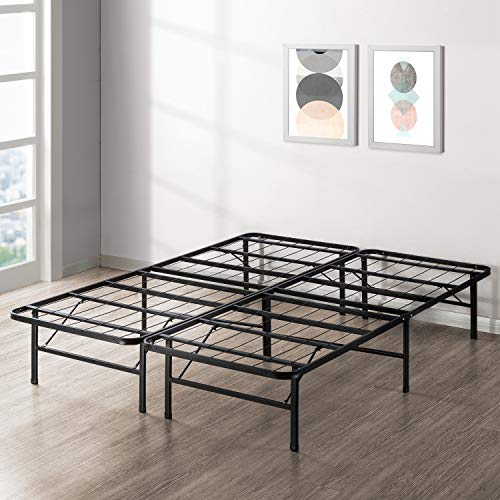 cheapest bed frames Best Price Mattress New Innovated Box Spring Metal Bed Frame, Queen