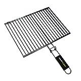 Cook'in Garden Gr025 - Rejilla doble rectangular (40 x 30 cm)