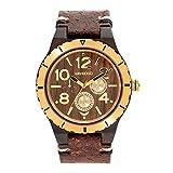 [ウィウッド] 腕時計 9818155 メンズ 正規輸入品 ブラウン