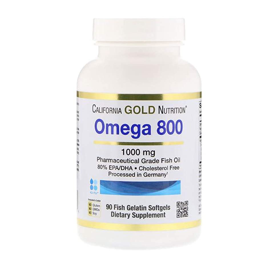 上にログ改修するCalifornia Gold Nutrition オメガ 800 80% EPA DHA 1000mg 90点【アメリカ直送】
