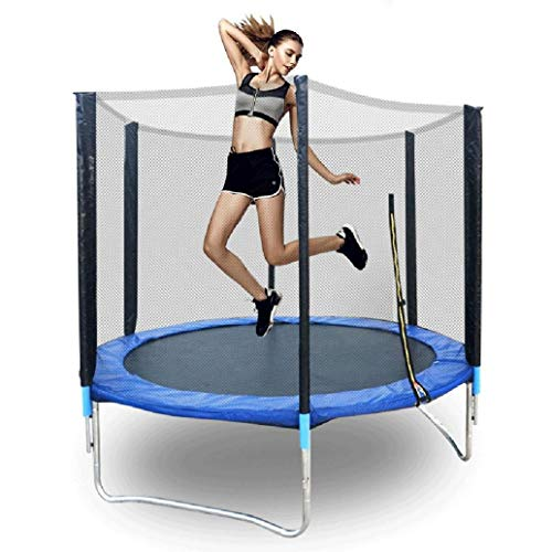 BESLUK 6ft 8ft 10ft 12ft Kids Trampoline with Enclosure Ne...