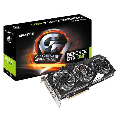 GIGABYTE GeForce GTX 980 Xtreme Gaming WF3 4GB GDD