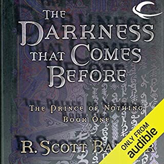 The Darkness That Comes Before audiobook cover art
