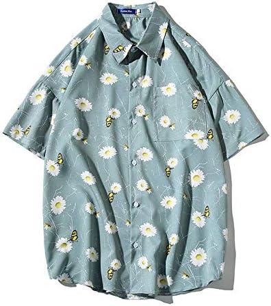 CRWOOL Camiseta Casual Loose Plus Size Top para Hombres y ...