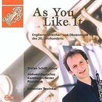 British Str-& Oboe Music