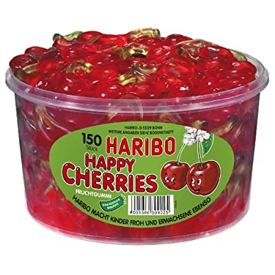 haribo happy cherries, 1200g tub Haribo Happy Cherries, 1200g Tub 51WBVOMq0LL