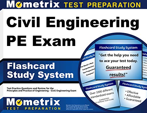 Civil Engineering PE Exam Flashcard Study System: Civil Engineering PE Test Practice Questions & Review for the Principles and Practice of Engineering - Civil Engineering Exam (Cards)