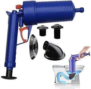 エアドレンブラスター、シンクプランジャー、圧力ポンプクリーナー、バストイレ、バスルーム、シャワー、シンク、バスタブ、キッチン詰まり、4種類のサクションカップ付き