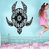 HNXDP Wall Vinyl Sticker Animal Series Tatuajes de pared Tortuga Tribal Wall Stickers Home Livingroom Art Decorative Wall Mural Y05 57x71cm