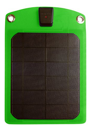 Platinum Choice Products -Solar Phone Charger Green-Best Outdoor Accessory for Charging Batteries without a Battery!