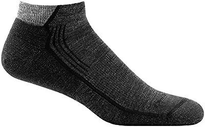 Darn Tough Hiker No Show Light Cushion Sock - Men's Black Large