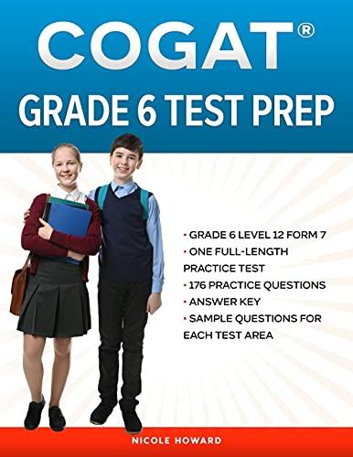 COGAT® GRADE 6 TEST PREP: Grade 6 Level 12 Form 7, One Full...