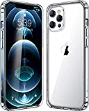 Crystal clear case designed for iPhone 12 Pro Max released in 2020. Made of tpu bumper , hard pc back , protecting from accident drops, scratches. Easy access to all the controls and features, perfect cutouts for speakers, camera and other ports. Tra...