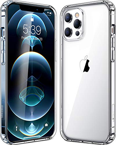 Mkeke Compatible with iPhone 12 Pro Max Case, Compatible with iPhone Pro Max Cover Clear for 6.7 inch 2020