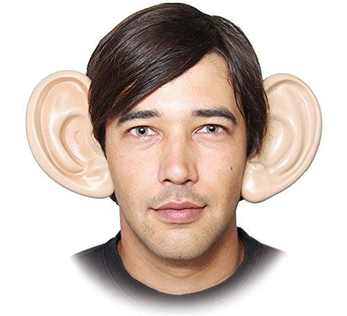 EUROCARNAVALES Riesenohren auf Haarreif Scherzohren 14 cm Ohren riesig