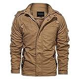 YAYUMI Men's Riga Fleece Jacket Solid Color Pocket...